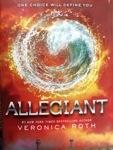 Allegiant…Sprinkled With Divergent andInsurgent